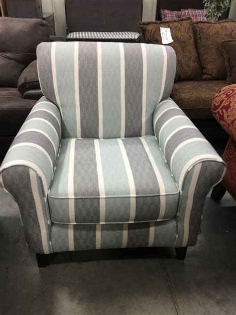 fusion grande mist accent chair  furniture place