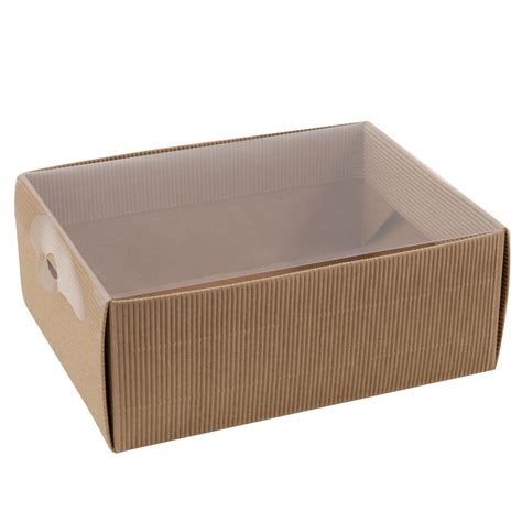 Paper Boxes With Lids - china medium flat pack kraft paper gift box with window