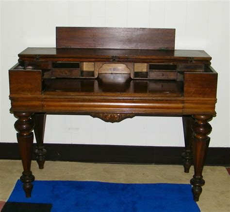 Antique Piano Desk by Antique Walnut Spinet Desk Piano Desk Antique