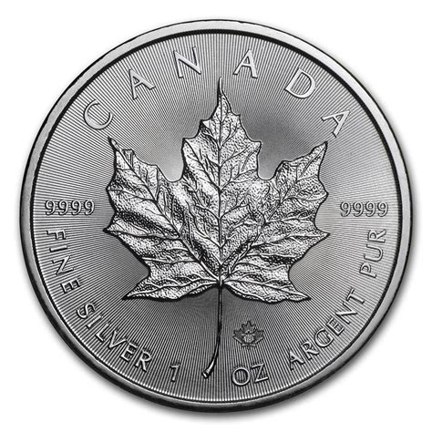1 oz 2018 canadian maple leaf silver coin buy 2018 canada 1 oz silver maple leaf bu new