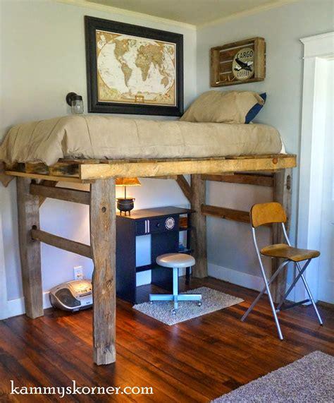 diy pallet loft bed plans 20 diy pallet projects worth doing yourself
