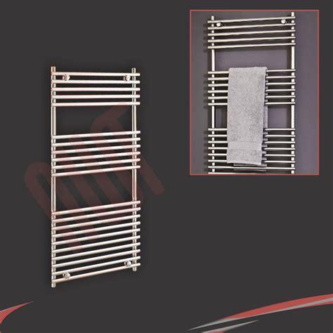 sale designer heated towel rails warmers bathroom radiators chrome white ebay