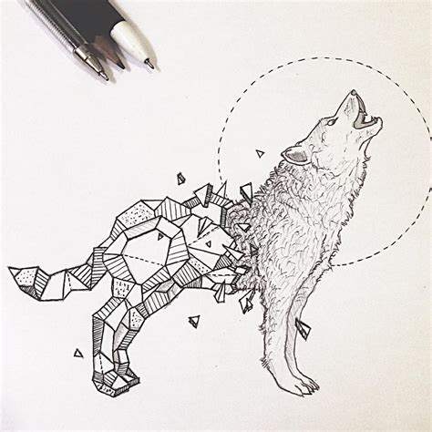 geometric animal tattoo designs resultado de imagen de geometric wolf wolf art