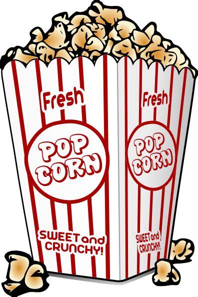 popcorn clipart free popcorn clip at clker vector clip
