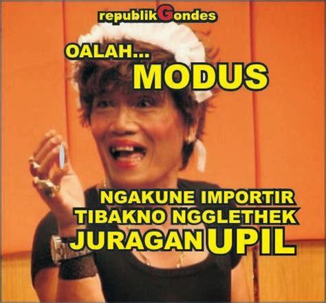 meme lucu dp jowo jaman edan humor lucu kocak gokil terbaru ala indonesia