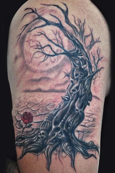 evil tree tattoo designs evil tree by tattoonow