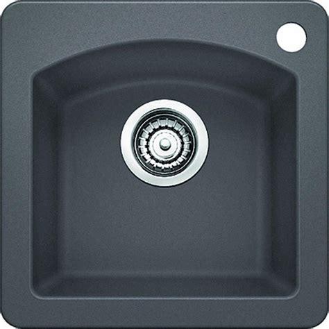 blanco granite bar sinks blanco drop in undermount granite composite 15 in
