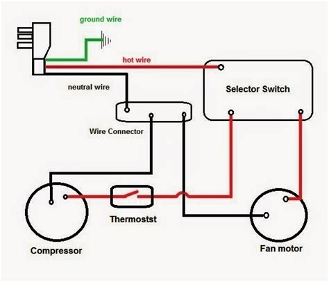 window type aircon wiring diagram wiring diagram and