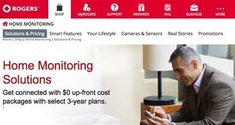 rogers smart home monitoring launches in greater vancouver