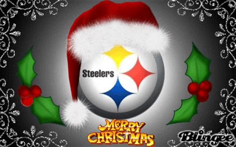 steelers christmas pics steelers picture 127163239 blingee