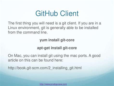 github submodule tutorial git and github basics