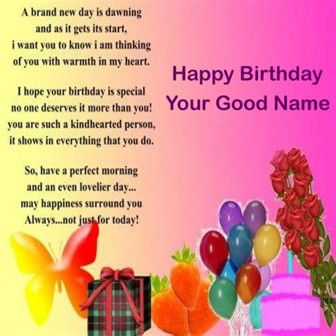 Birthday Wishes Cards Editing