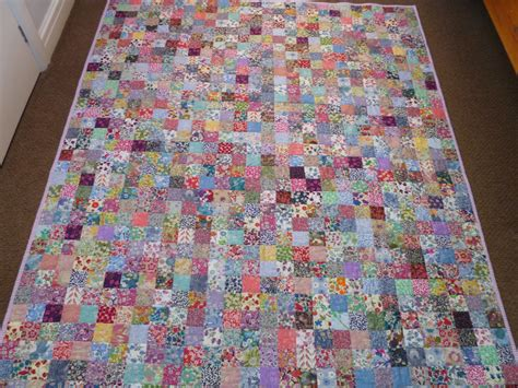 Quilts With Squares by Stitch And Pieces Liberty Squares Quilt A Finished Quilt