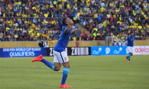 Calendario Qualificazioni Mondiali 2018 Sudamerica Qualificazioni Mondiali Gabriel Jesus Trascina Il Brasile