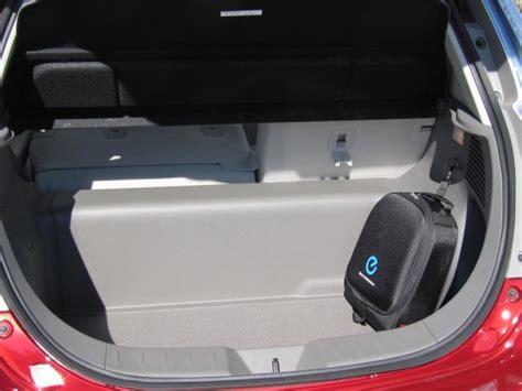 best electric car cargo space 2012 nissan leaf 2012