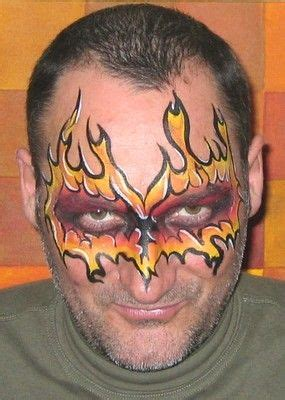soccer ball with flames boy s face painting by let s 17 best images about face painting flames on pinterest