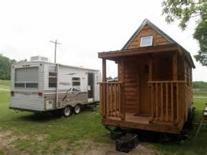 tiny home on trailer living large in a tiny home the rving lifestyle