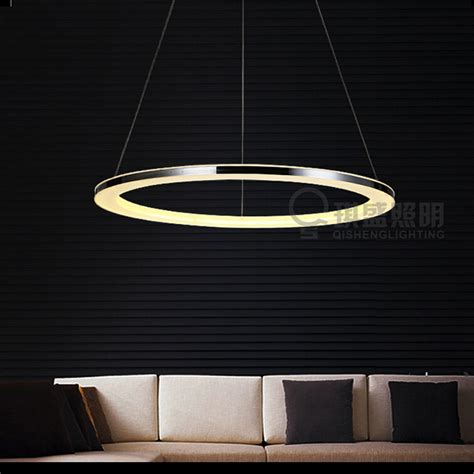 High End Pendant Lighting The High End Led Modern Circular Chandelier Chandelier