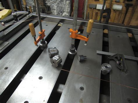 welding table design