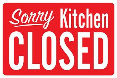closed kitchen the kitchen is closed brain child magazine