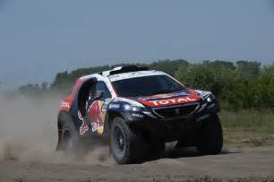 Peugeot Rally Peugeot Dakar 2015 Rally Team Up To Position 4