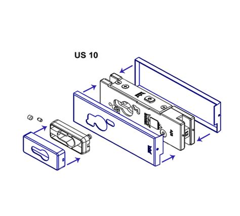 Patch Lock Alto Us 10 dorma us10 patch lock cover plates the wholesale glass company