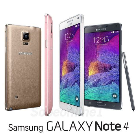 samsung galaxy note 4 iv sm n910c factory unlocked 5 7 quot qhd you color ebay