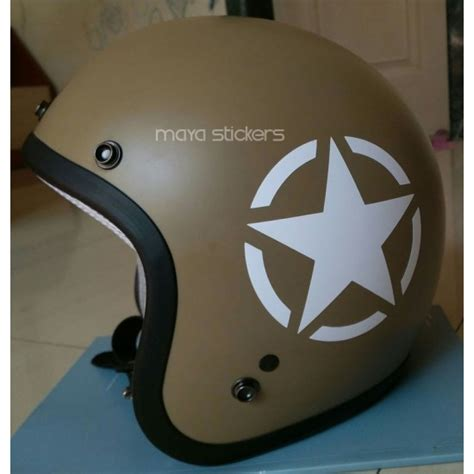 Vinyl Wall Stickers Custom us military star sticker decal for royal enfield and other
