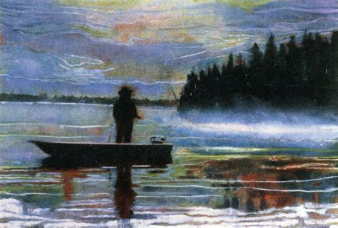 painting images lunker 1995 peter doig wikiart org