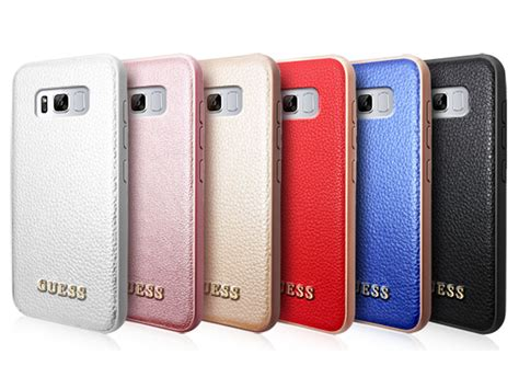 Hardcase Doff Samsung S8 guess samsung galaxy s8 hoesje iridescent