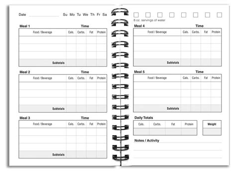 food diaries templates 7 best images of daily food diary template printable