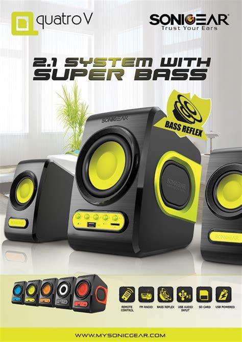 Speaker Quatro V sonic gear quatro v powered by usb turquila 11street malaysia speakers soundbars