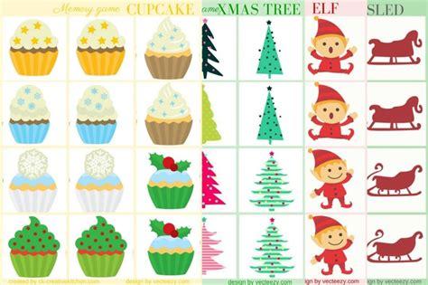 printable memory card games for preschoolers christmas memory game free printable creative kitchen