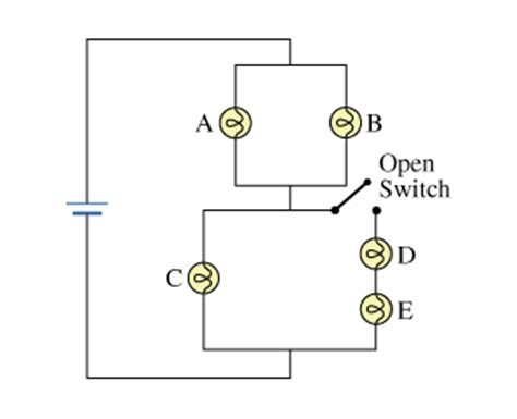 parallel circuits brightness of bulbs now consider what happens when a switch in the cir chegg