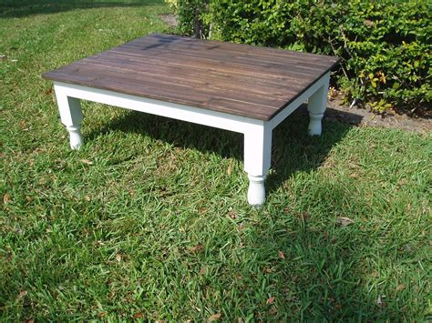 Chic Coffee Table Shabby Chic Coffee Table By Kenryandcompany On Etsy