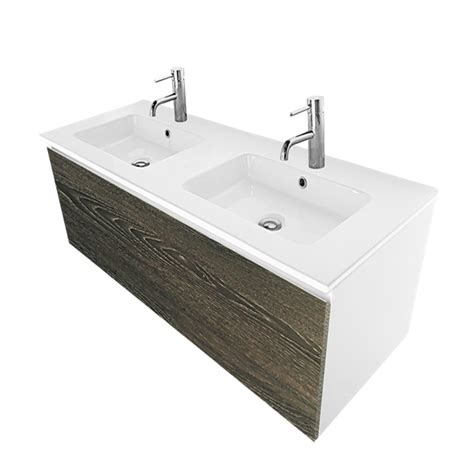 bathroom vanity bunnings cibo design 1200mm bronzed oak revive double vanity