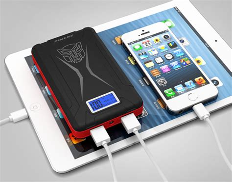 Senter Multifungsibisa Sebagai Power Bank pineng transformer 10000mah high capacity power bank with