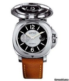 Panerai Firenzi Silver Brown Leather Automatic panerai watches on panerai watches s watches and
