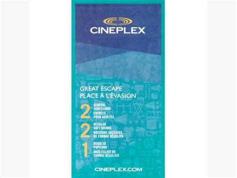 cineplex kamloops 2 admission cineplex coupon saanich victoria