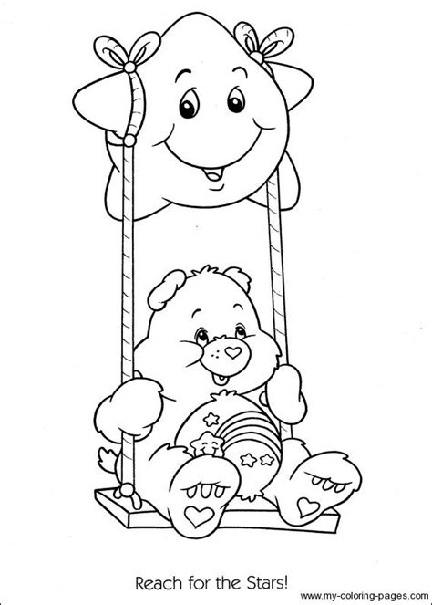 wish bear coloring pages 342 best care bears images on pinterest