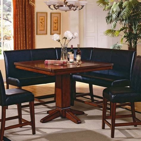 Dining Nook Table Set with Dining Table Corner Nook Dining Table Set