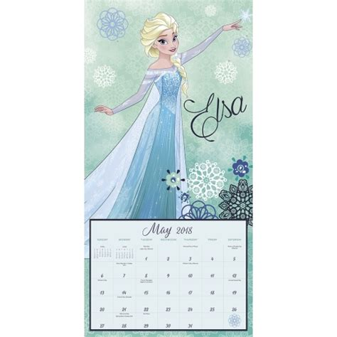 2018 disney frozen wall calendar mead disney frozen wall calendar 9781682098240 calendars