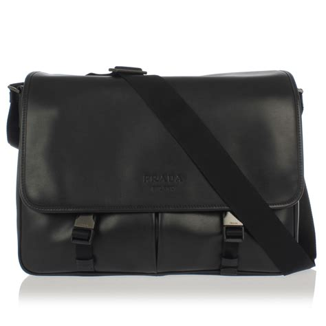 Leder Umhängetasche Herren by Prada Leather Shoulder Bag Spence Outlet
