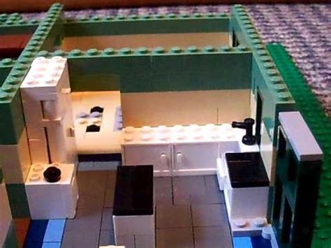how to make a lego house how to make a lego house part 4 kitchen youtube