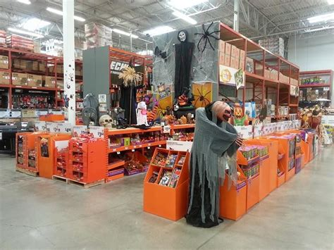 home depot decor store photos womans complaint causes home depot to pull scarey halloween decorations daily headlines