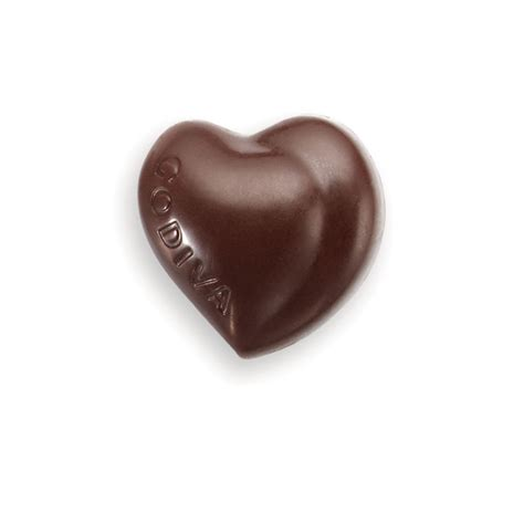 milk pralin 233 heart chocolate flavors godiva