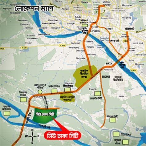 map of dhaka city new dhaka city ন উ ঢ ক স ট