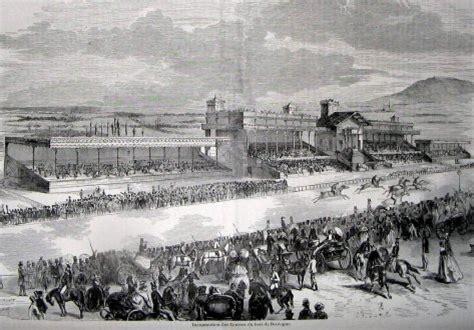 le en bois 1857 l hippodrome de longch
