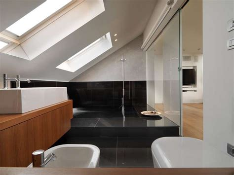 bagno in mansarda arredare il bagno in mansarda foto design mag