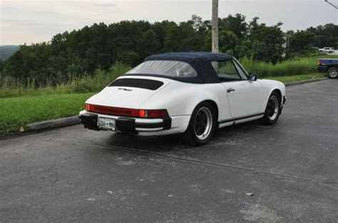 porsche 911 convertible 1980 buy used 1980 porsche 911 sc convertible in cleveland